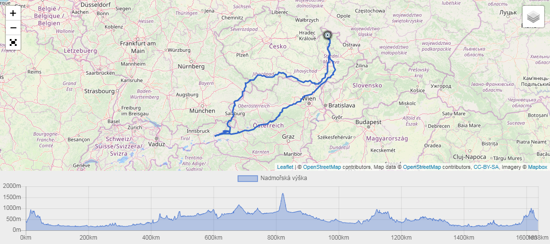 Embacher mapa